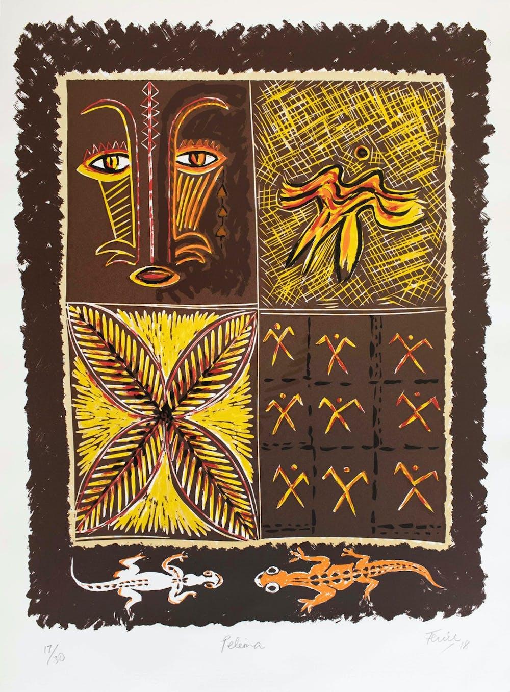 Fatu Feuu Paleina Limi ted ed print on fine art paper 790x555mm Signed titled numbered