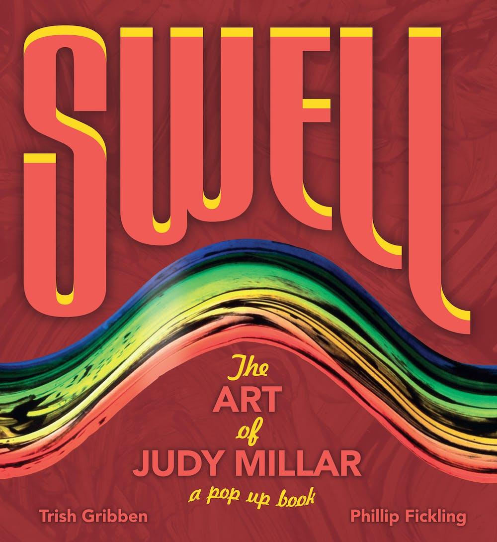 Image 1 Judy Millar Trish Gribben Philip Fickling Swell 2014